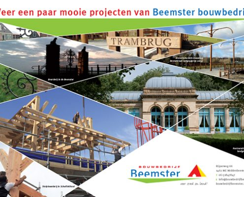 Advertentie Bouwbedrijf Beemster