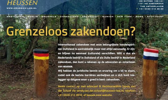 Advertentie Heussen Law