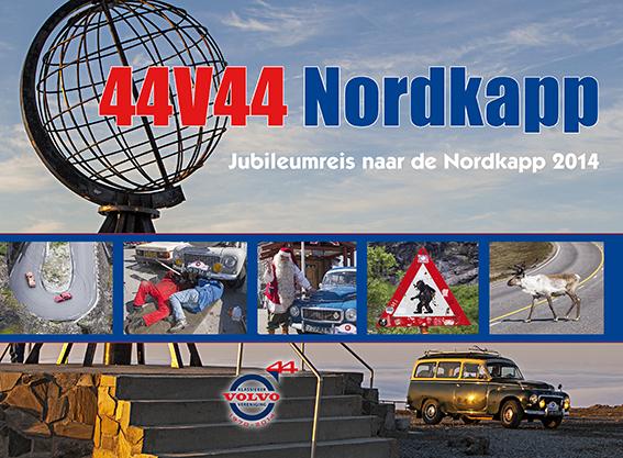 Cover Nordkapp boek Volvo Klassieker Vereniging
