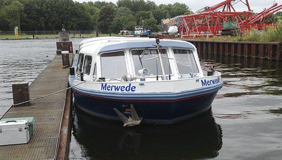 belettering rondvaartboot