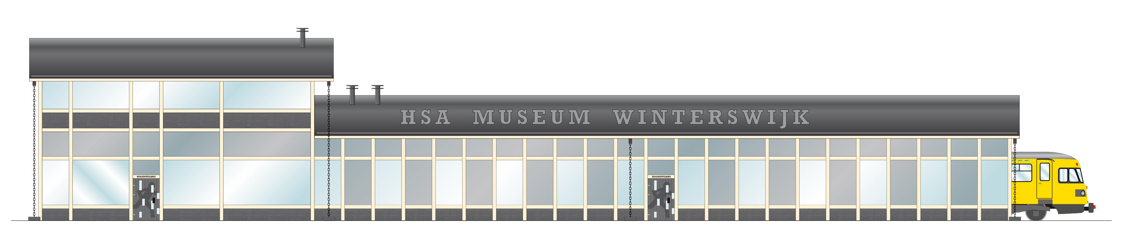 OV museum Transit Oost Winterswijk spoorzijde
