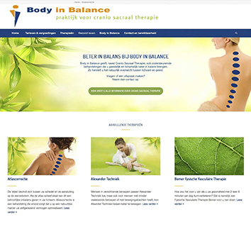 Website Body in Balance